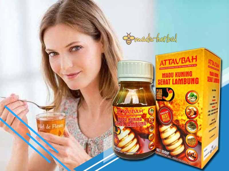 cara-minum-madu-kuning-sehat-lambung-attaubah-dan-efek-sampingnya