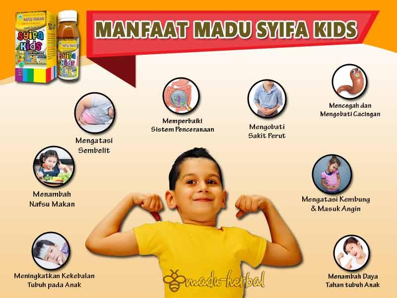 khasiat-madu-syifa-kids-tanpa-efek-samping